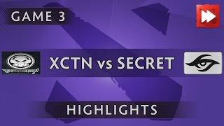 Execration vs Team Secret [Game 3] ROG MASTERS 2016 - Dota Highlights
