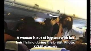 Chinese Women Fight Midair In China To Hong Kong Flight Over Crying Baby