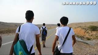 فلم وثائقي قصير شباب ومن ولاية صور سلطنة عمان يسيرون مسافة أكثر من 41 كيلومتر