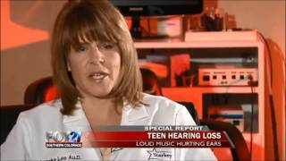 Hearing loss in kids because of headphones