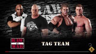 WWE 2K18 Stone Cold Steve Austin,Mike Tyson VS Vince McMahon,Shawn Michaels Elimination Tag Match