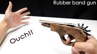 Awesome Toy Rubber band gun - RAPID FIRE