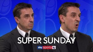 """Gary Neville slams Man United midfielders: """"Not one of them can pass a football"""" 