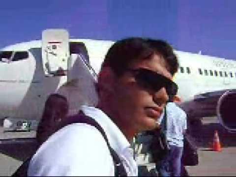 Embarcando no Aviao da Gol em Joinville