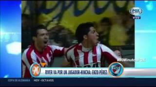 El día que Enzo Pérez mostró su fanatismo por River Plate | 90 Minutos de Fútbol