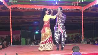 Hot Romantic Song at Bangla Jatra Pala!