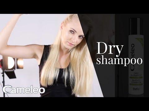 Cameleo Dry Shampoo - how to use
