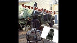 Humvee resto mod project part 3: Custom seats and pressure washing