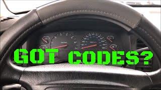 Checking Codes Without A Scanner | Dodge Dakota/Durango