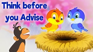 Think Before You Advise - Panchatantra In English - Cartoon / Animated Stories For Kids