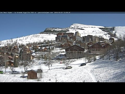 Webcam les 2 Alpes La Grande Aiguille Passion2Alpes