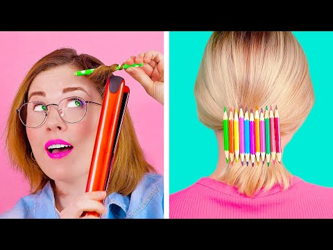 Awesome PENCIL Hacks and Tricks Unusual But Cool Things You Can Make With Pencils
