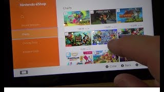 Nintendo Switch: How To buy a Game from Nintendo eShop for beginners.