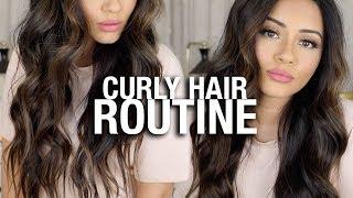 HOW I CURL MY LONG HAIR TUTORIAL | KAUSHAL BEAUTY