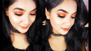 Burnt Orange Fall Makeup Tutorial || Fall Makeup Look #1