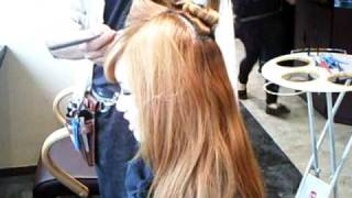 How to Color Blonde to Japanese Girl by Jeff in Kobe, Japan