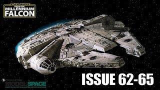 Build the Millennium Falcon LIVE - PART 12 - Issues 62,63,64 & 65