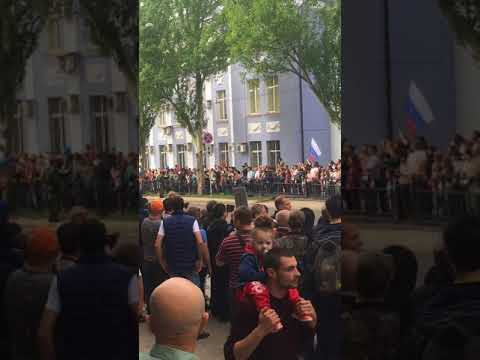 9 мая День Победы! Парад в Донецке , парад в днр 2018