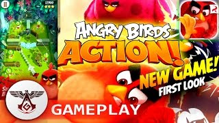 ANGRY BIRDS ACTION! [ NEW GAME ] DOWNLOAD + GAMEPLAY iOS - ANDROID
