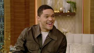 Trevor Noah Talks About Growing up Poor and Eating Caterpillars
