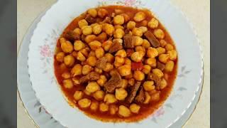 Etli Nohut Yemeği Tarifi-  Yemek Tarifleri - Ev Lezzetleri