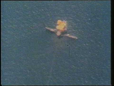 HMS Sheffield Hit by Exocet Missile