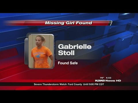 Search crews find girl missing since Wednesday night.