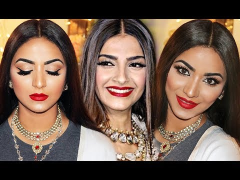 Xxx Mp4 SONAM KAPOOR WEDDING RECEPTION LOOK MAKEUP AND HAIR AFFORDABLE PRODUCTS 3gp Sex