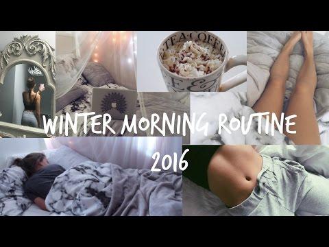 Winter Morning Routine 2016!