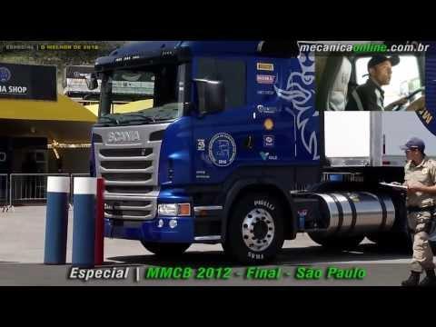 Melhor Motorista de Caminhão do Brasil 2012 Final