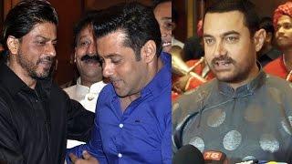 Aamir Khan Talks On His Friendship With Shahrukh & Salman