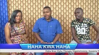 KURUGA WA WANJIKU AT GIKUYU TV WITH ROSEMARY KAREY NA KIMANI WAMAGUI AT HAHA KWA HAHA SHOW