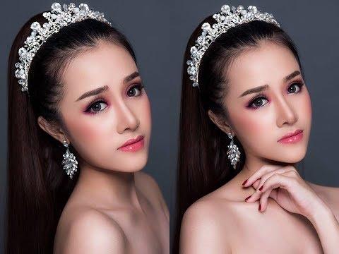 Trang Điêm Tone Thái Lan Ngọt Ngào - Thailand Makeup Hùng Việt Makeup