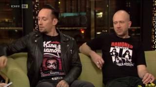 Volbeat interview on Aftenshowet - DR, 2017-02-15.