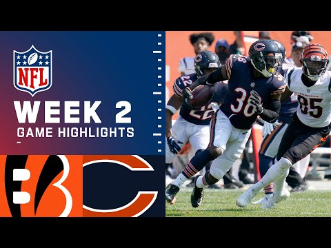 Bengals vs. Bears Week 2 Highlights NFL 2021