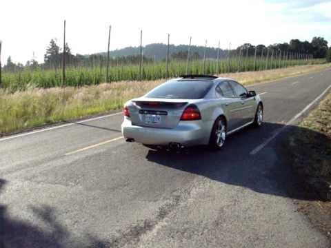 2006 Pontiac Grand Prix GXP w/SLP exhaust