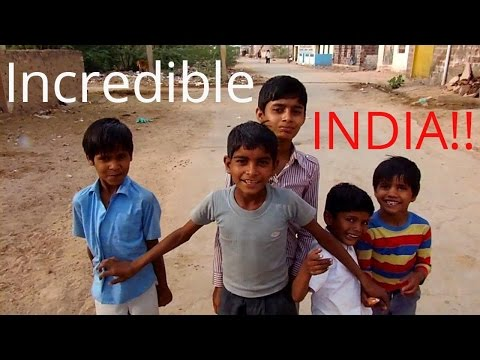 Exploring a strange little village in Rajasthan, India (Keechen)