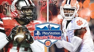 #3 Ohio State vs #2 Clemson | 2016 Playstation Fiesta Bowl  | NCAA Football Simulation