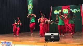 Joy Bangla bole age baro Dance by Rokeya Hashi & others
