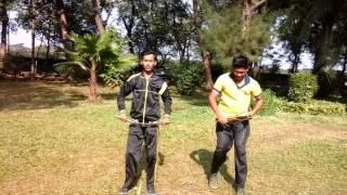 Navi mumbai kungfu wushu training.(2)