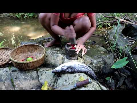 Xxx Mp4 Survival Skills Find Big Fish In River Amp Boiled On Clay For Food Cooking Big Fish Eating Delicious 3gp Sex