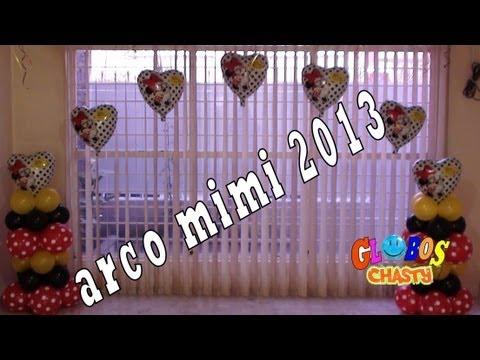 ARCO CON GLOBOS MIMI 2013 GLOBOS CHASTY