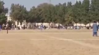 Tape ball cricket Aziz vs Abu bakar .