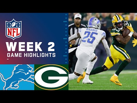 Detroit Lions vs. Green Bay Packers Week 2 2021 NFL GameHighlights