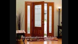 20 Contoh Model  Pintu Utama Rumah Minimalis Modern