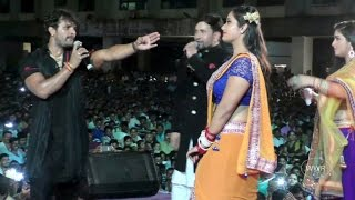 Khesari Lal Yadav, Kajal Raghwani, Dinesh Lal Yadav & Aamrpali dubey  - Perfomance At Borivali...