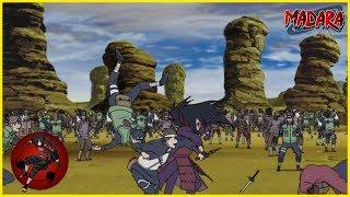 Shinobi Alliance VS Madara Uchiha - Full Fight - Naruto Shippudenうちはマダラ DUBBED