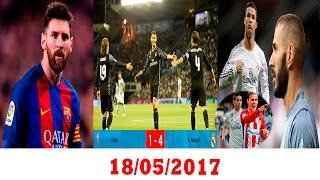ريال مدريد على بعد نقطة من اللقب | كرستيانو أفضل بدون بنزيمة | ميسي الأفضل بين الجميع
