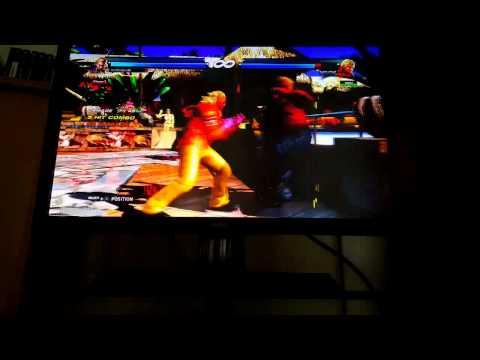 Tekken Tag 2:: Steve Fox Tag Crash Punish