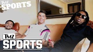 Lil Wayne Signs Cristiano Ronaldo To His Sports Marketing Company | TMZ Sports